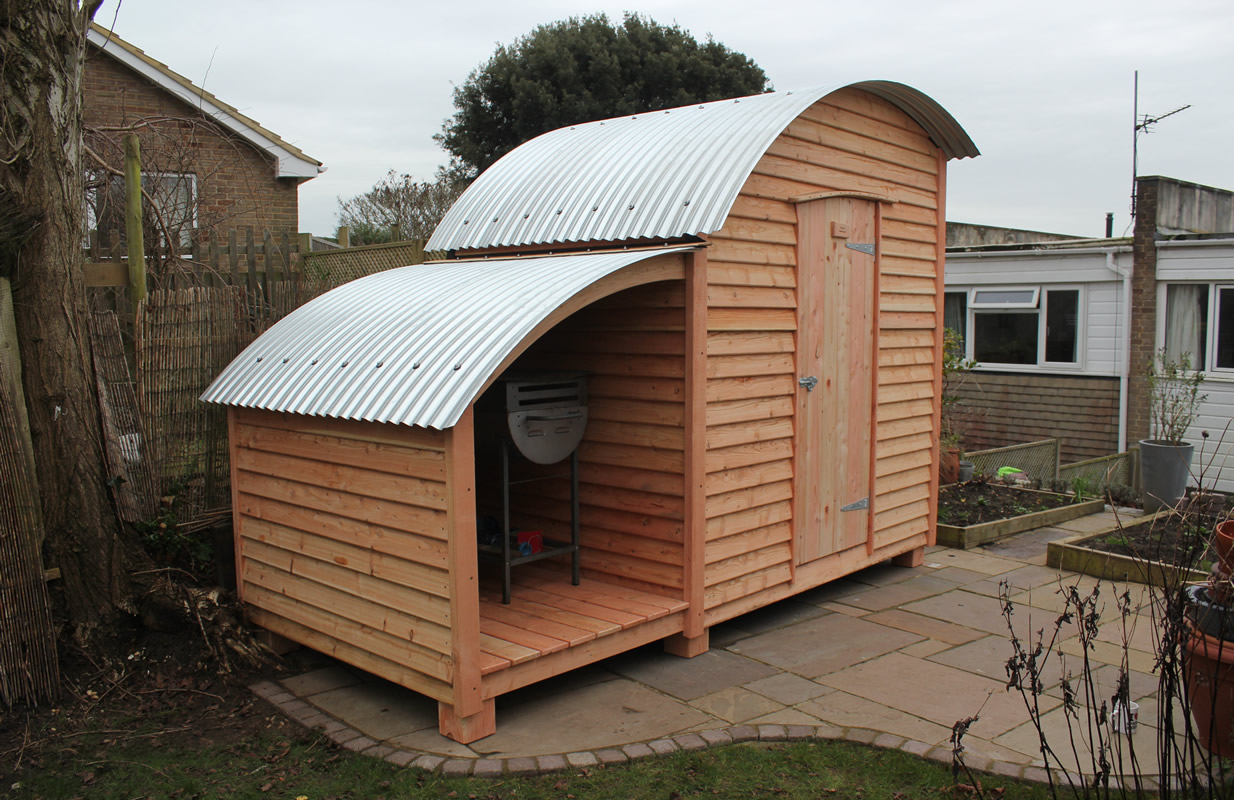 Barrel Top Wagons Huts
