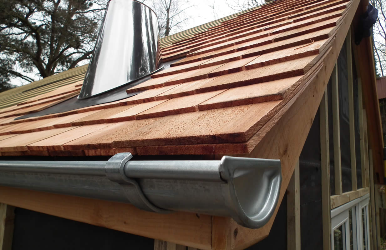 image of high quality guttering